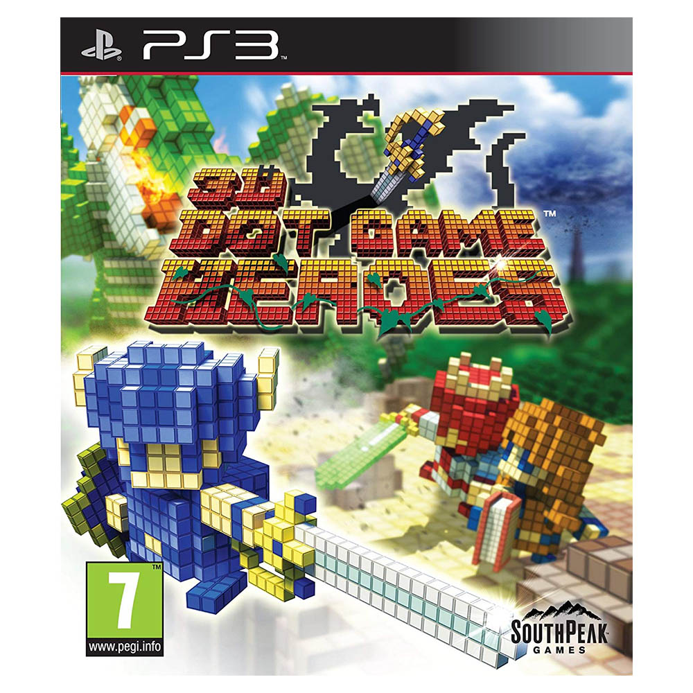 3D Dot Game Heroes - Sony Playstation 3