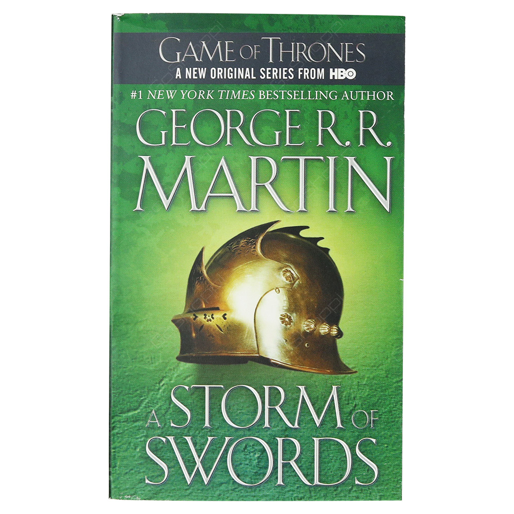 A Strom Of Swords - A Song Of Ice And Fire Book 3 - Game Of Thrones