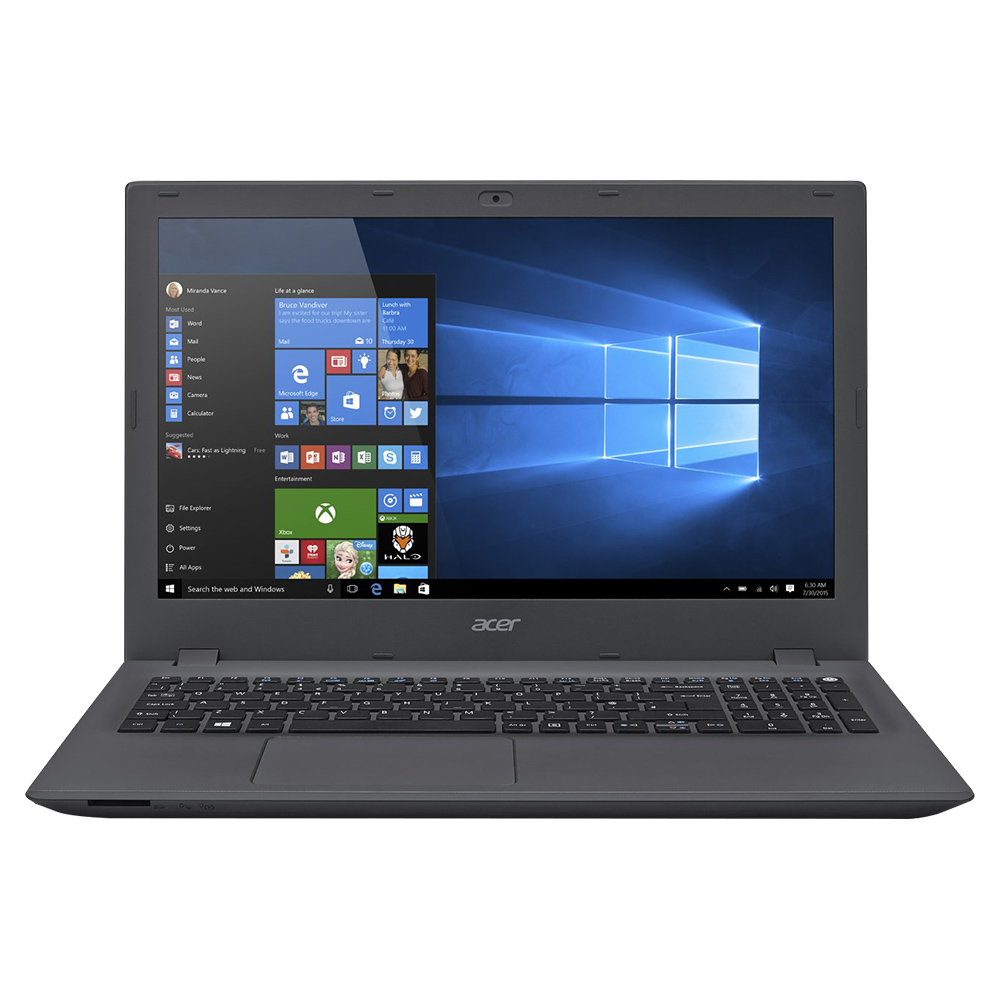 Acer Aspire E5-574G 15.6 Inch Intel Core i5-6200U Processor, 6GB RAM, 1TB HDD, 2GB Graphics - Black-Iron