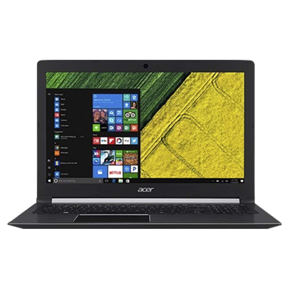 Acer Aspire Laptop With 5.6 Inch Display, Intel Core i7-7500U, 8GB RAM, 1TB HDD, 2GB VGA-940MX - Black - A515-51G-771Y