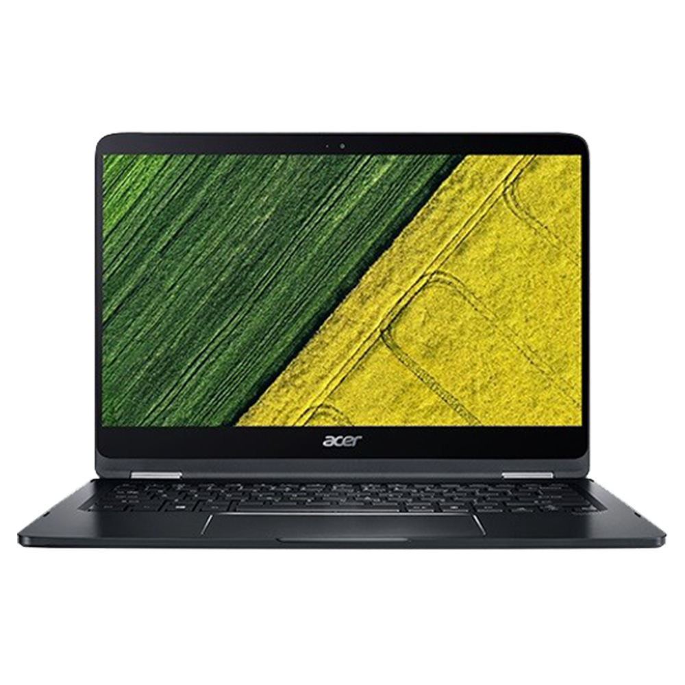 Acer Spin SP714-51-M9F1 With 14.4 Inch Display, Intel Core i7-7Y75 Processor, 8GB RAM, 256 SSD - Black