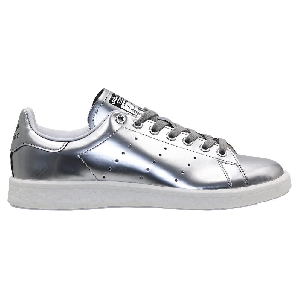 Adidas Originals Stan Smith Shoes For Women Silver White