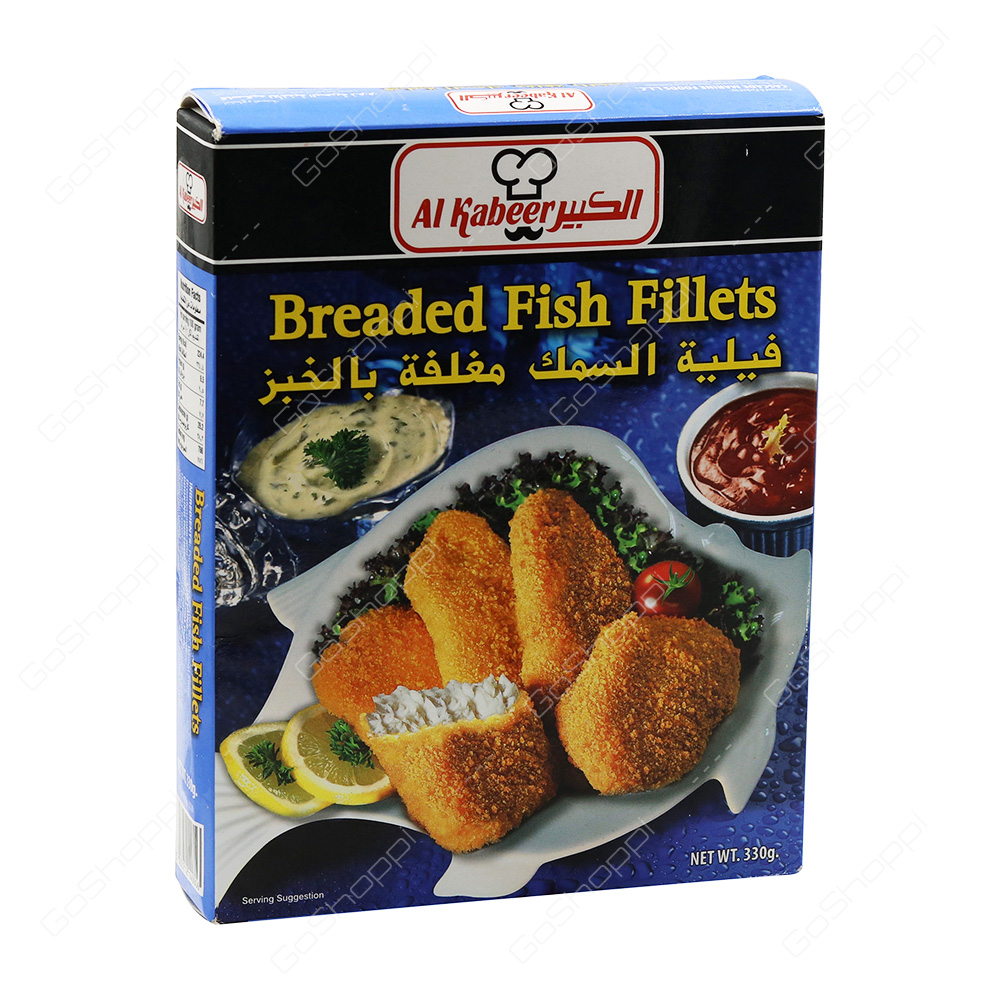 Buy frozen products online from green belt supermarket for Breaded fish recipe