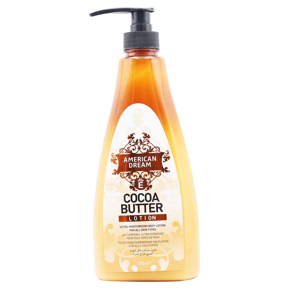 American Dream Cocoa Butter Lotion For All Skin Types 750ml