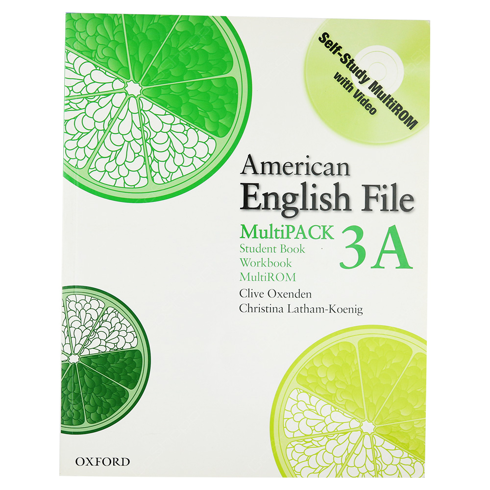American English File Level 3 - MultiPack 3A Student Book Workbook