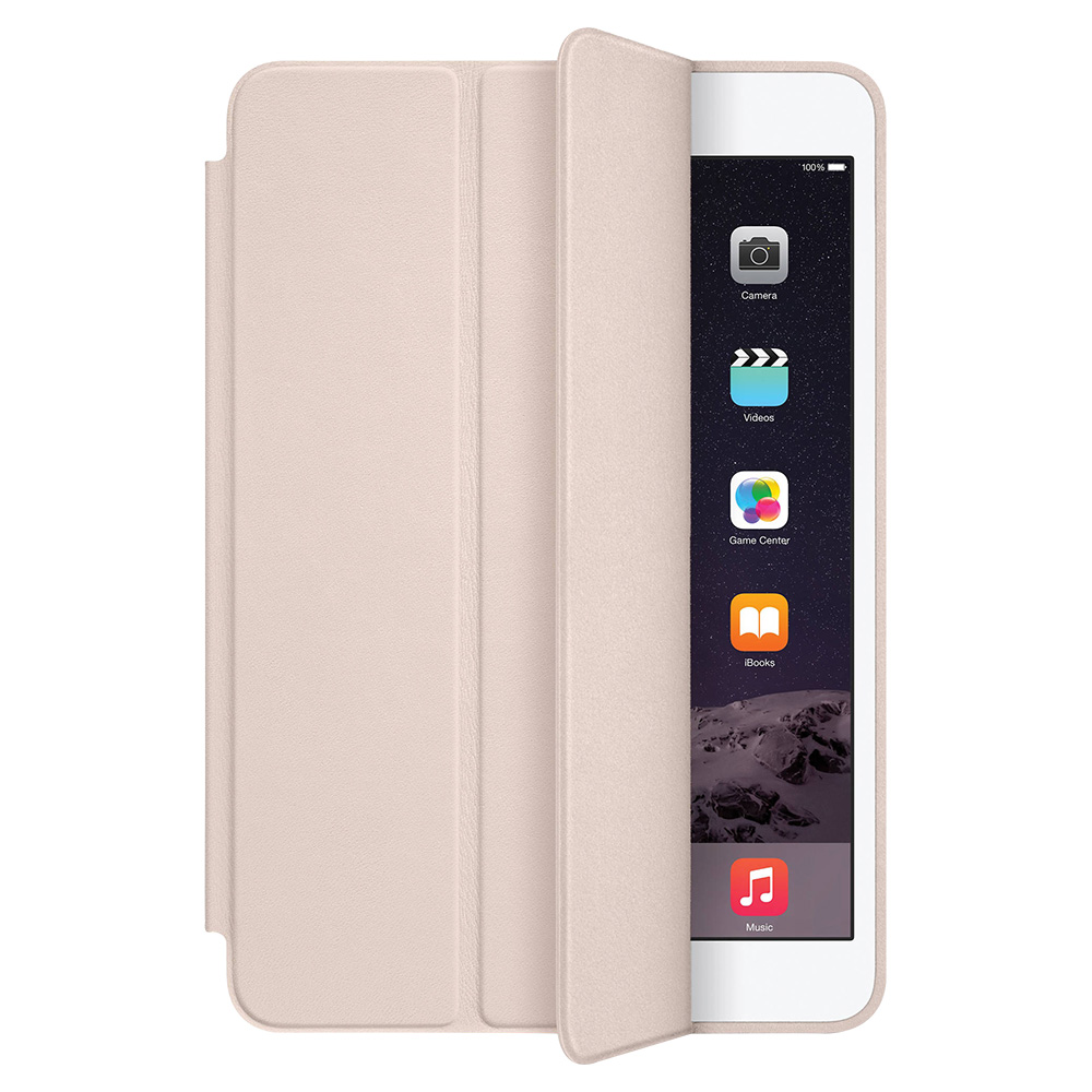 Apple Ipad Mini 1,2,3 Smart Leather Case - Soft Pink