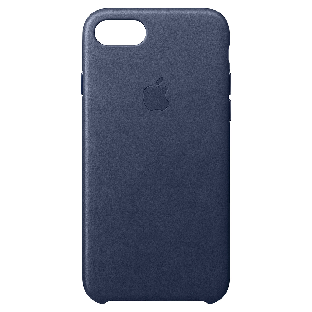 Apple Iphone 7 Leather Case MMY32ZM/A - Midnight Blue