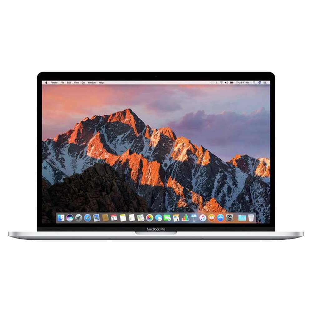 Apple Mac Book Pro Core i7 2.9GHz, 16GB 512GB 15 Inch Laptop With Touch Bar - Silver - MPTV2B/A