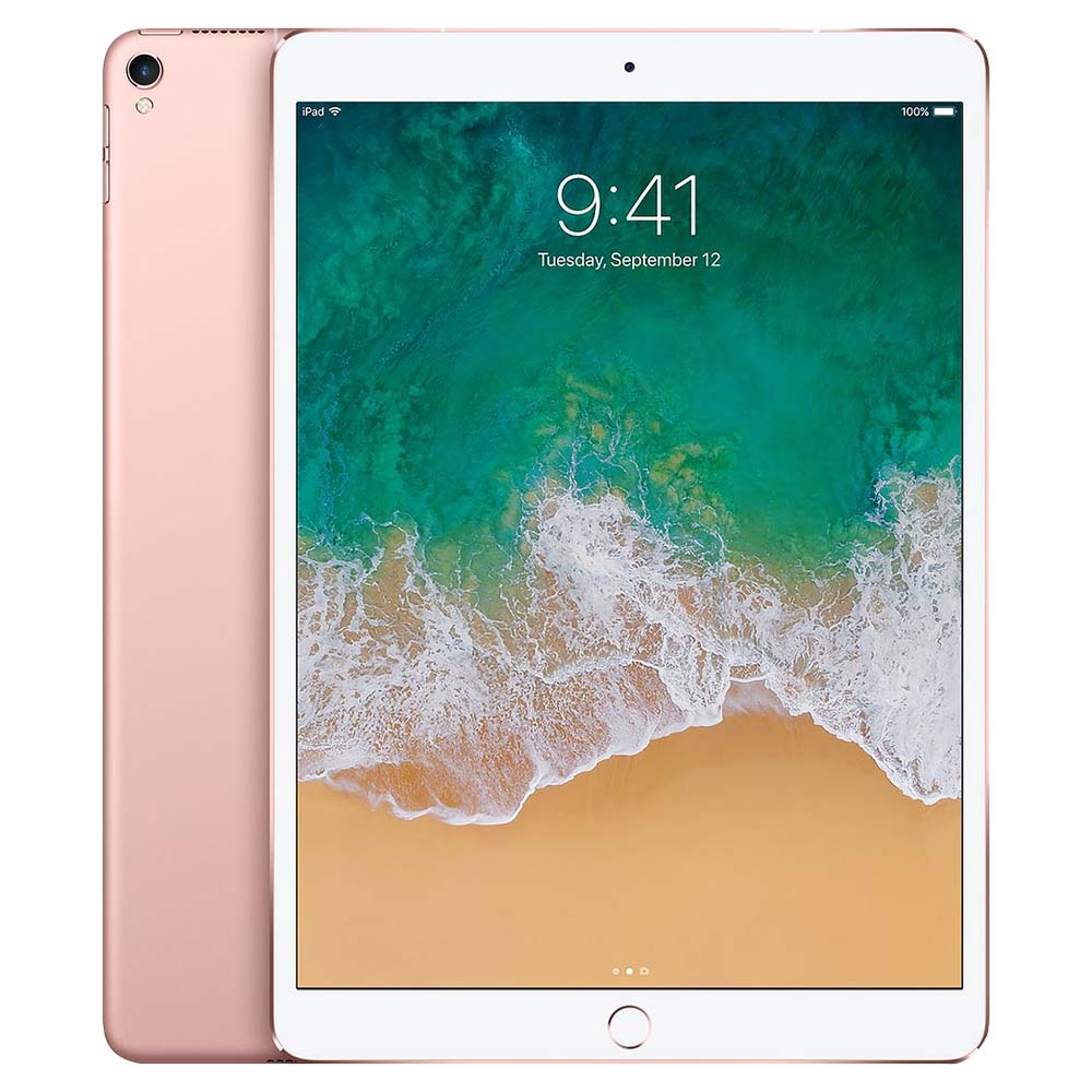 Apple iPad Pro 10.5 Inch WiFi And Cellular 512GB Without FaceTime - Rose Gold - MPMH2AE/A