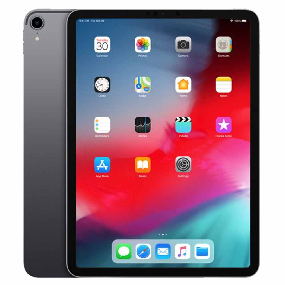 Apple iPad Pro 11 Inch Wi-Fi + Cellular 256GB Space Grey - MU102AE/A