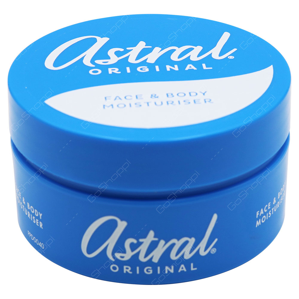 Astral Original Face And Body Moisturiser 200ml