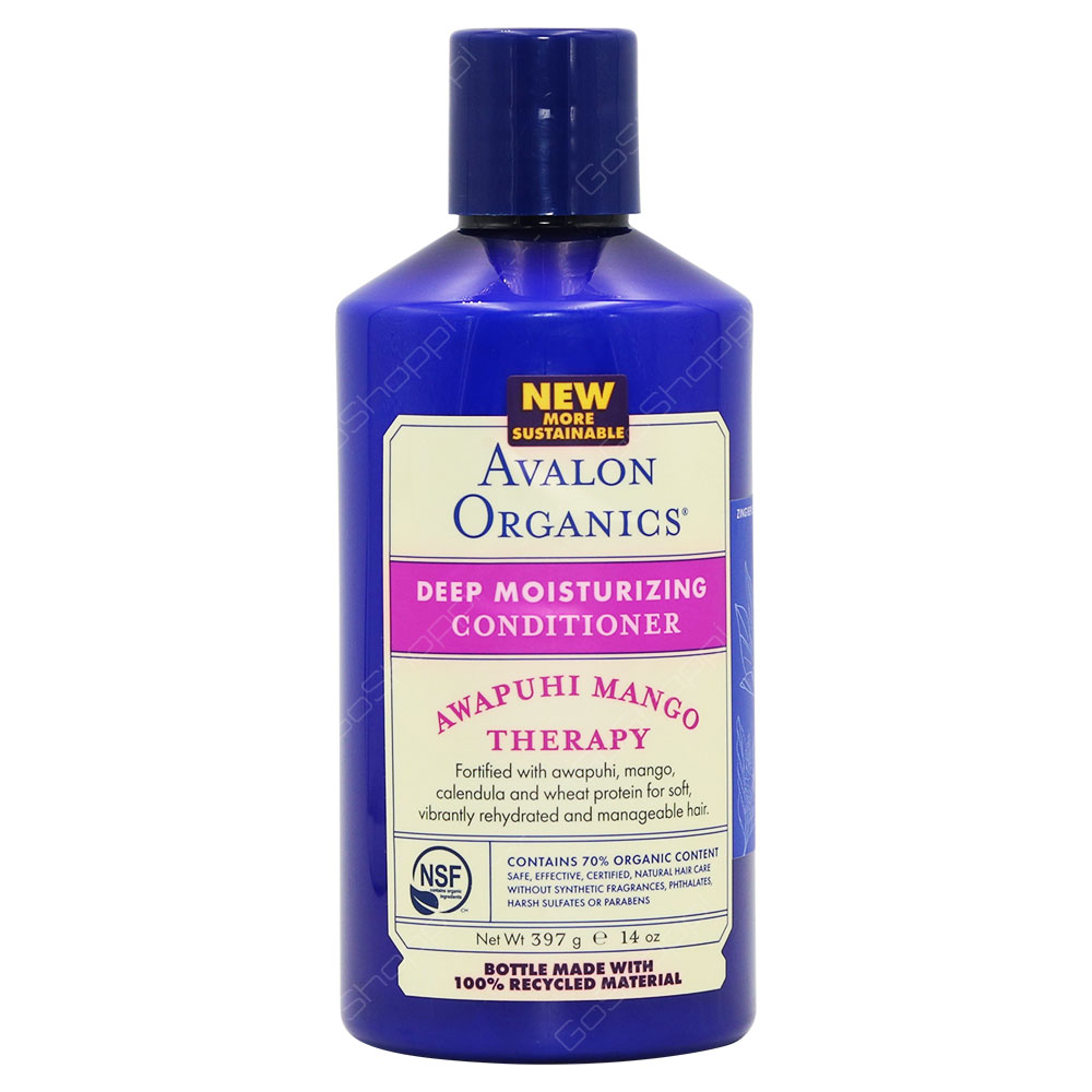 Avalon Organics Deep Moisturizing Conditioner Awapuhi Mango Therapy 397g