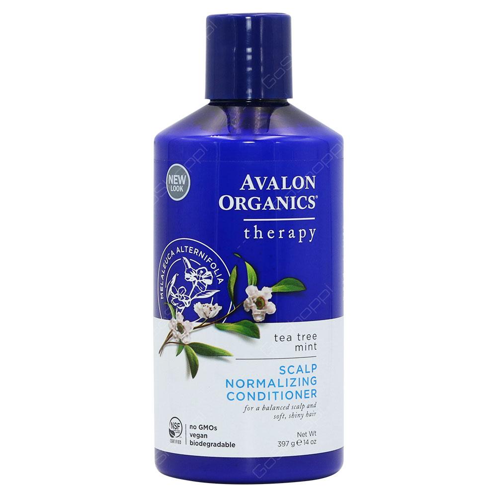 Avalon Organics Tea Tree Mint Scalp Normalizing Conditioner Therapy 397g