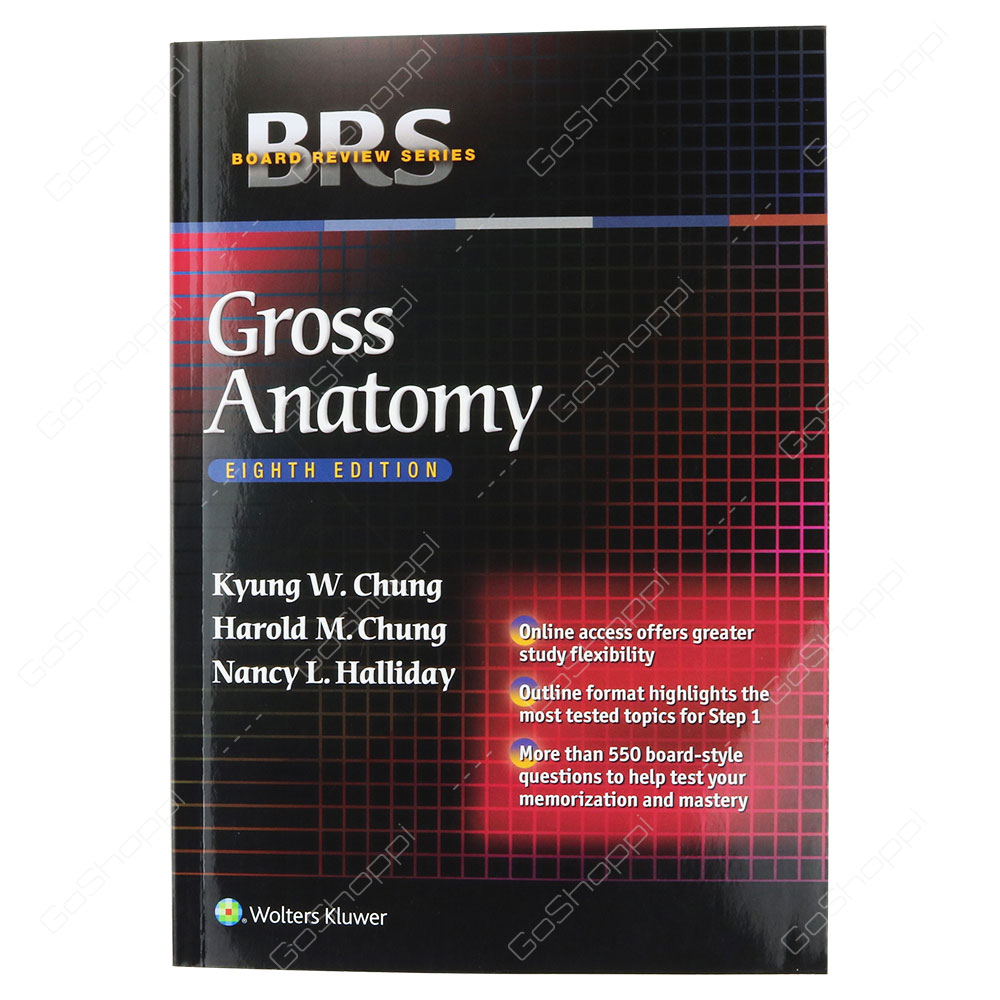 BRS Gross Anatomy By Kyung Won Chung - Buy Online