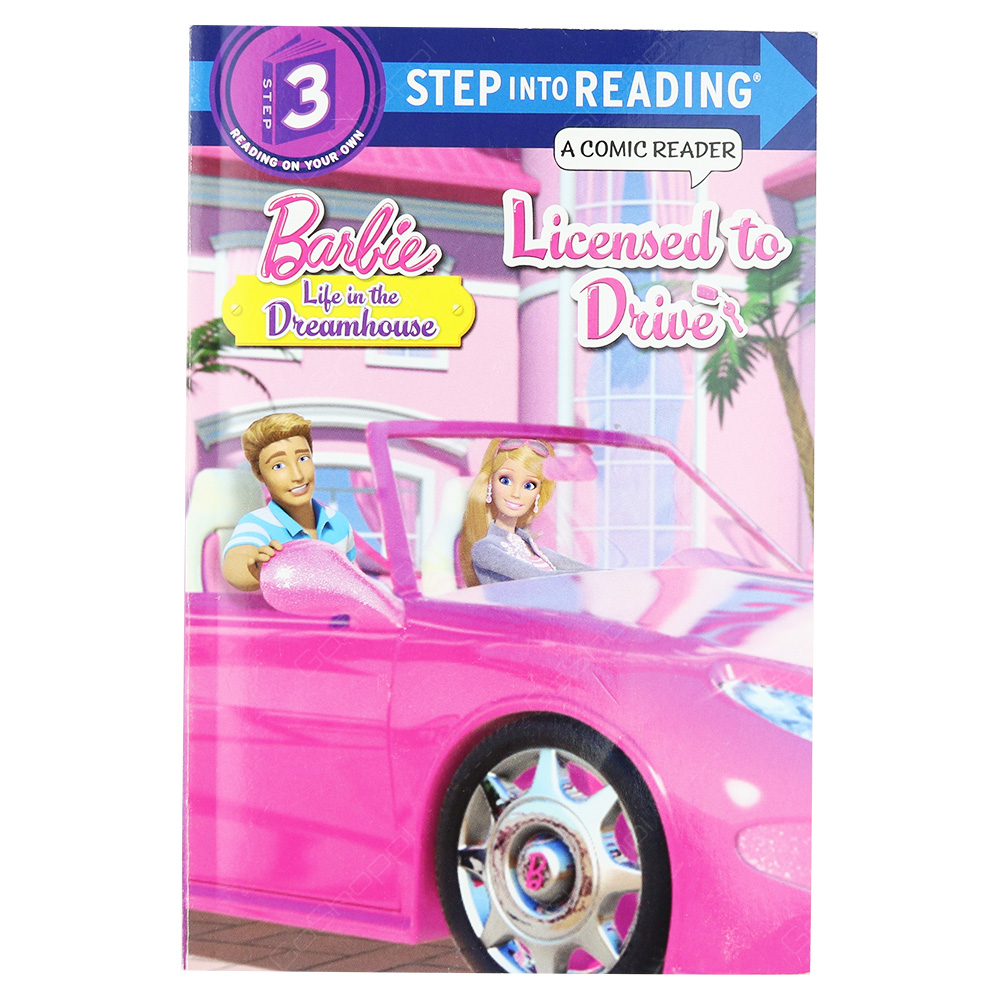 Barbie Life In The Dream House Step 3 - Licensed To Drive