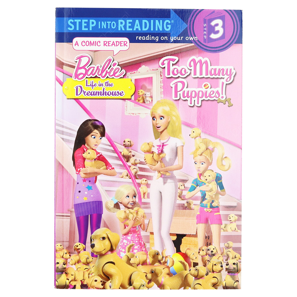 Barbie Life In The Dream House Step 3 - Too Many Puppies