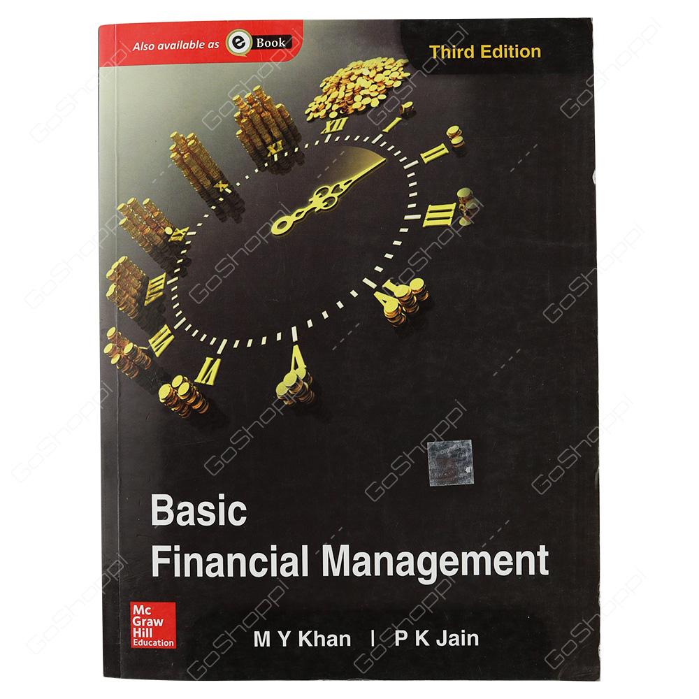 Basic Financial Management By M Y Khan