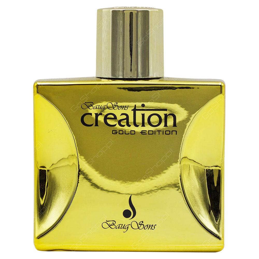 Baug Sons Creation Gold Edition Pour Homme Eau De Parfum 100ml Buy