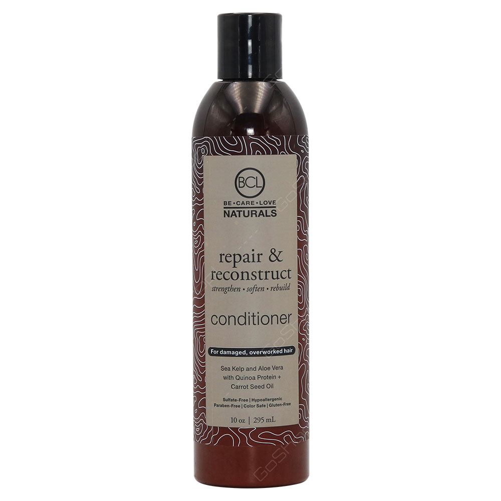 Be Care Love Naturals Repair & Reconstruct Conditioner For Damaged And Overworked 295ml