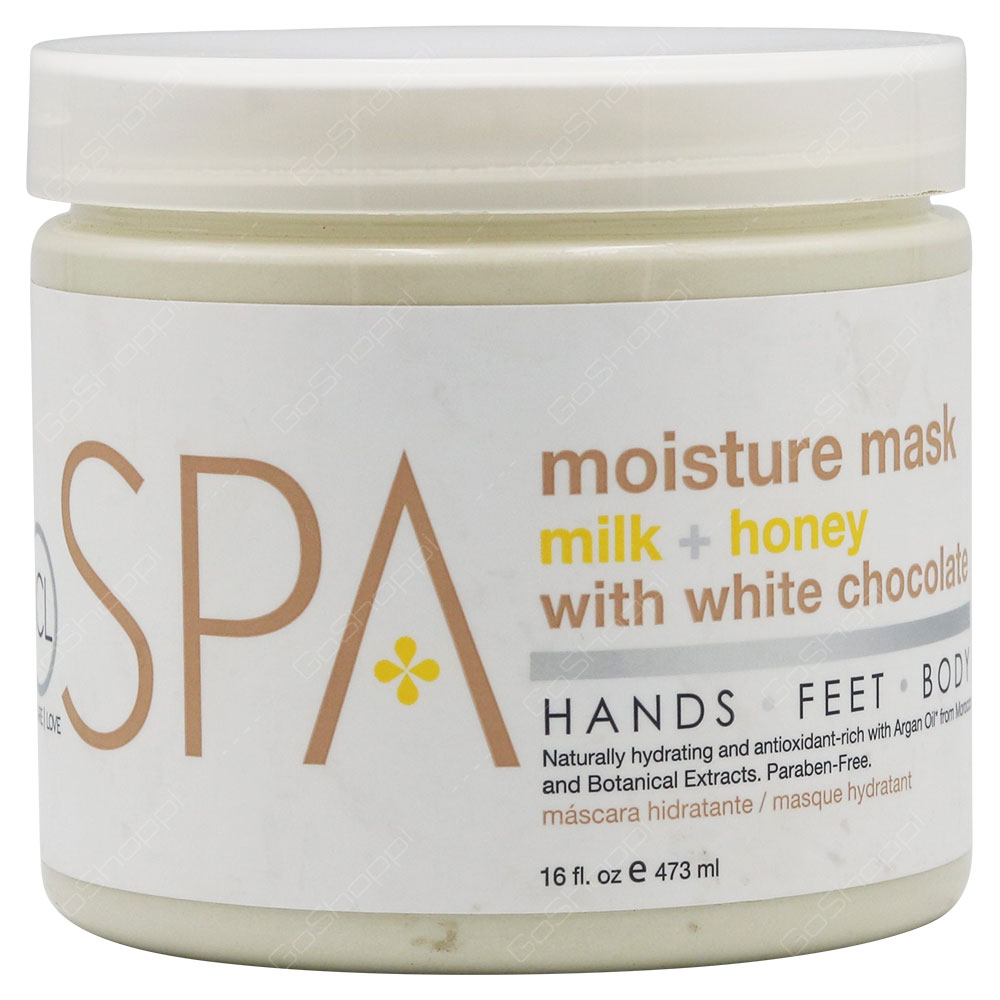 Be Care Love Spa Moisture Mask Milk + Honey With White Chocolate 473ml