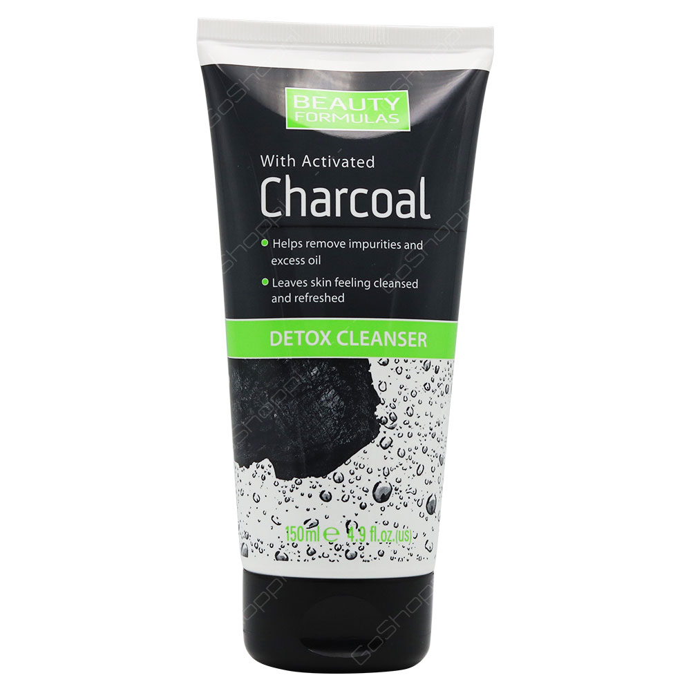 Beauty Formulas Detox Cleanser With Activated Charcoal 150ml