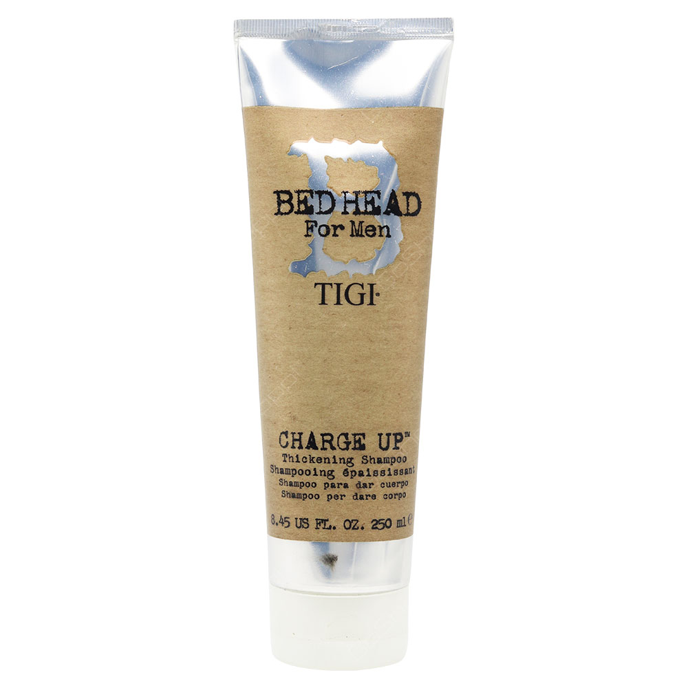 Bed Head For Men Tigi Charge Up Thickening Shampoo 250ml