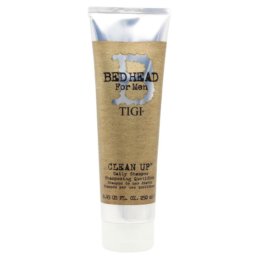 Bed Head For Men Tigi Clean Up Daily Shampoo 250ml