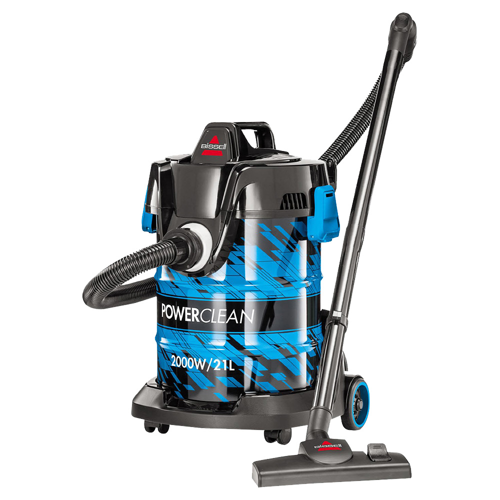 Bissell 21L Powerclean Drum Vacuum Cleaner Blue - BISM-2027E