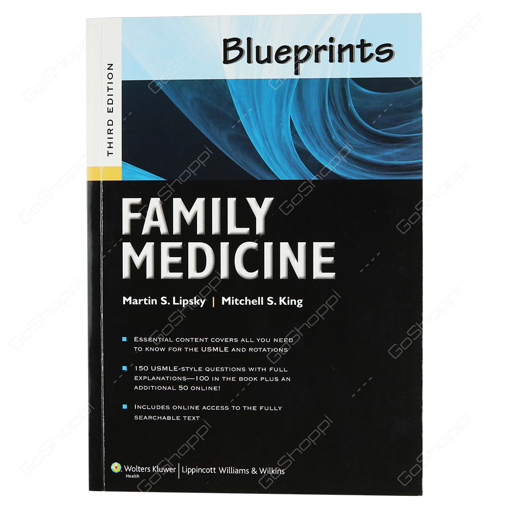 Blueprints Family Medicine By Martin S. Lipsky
