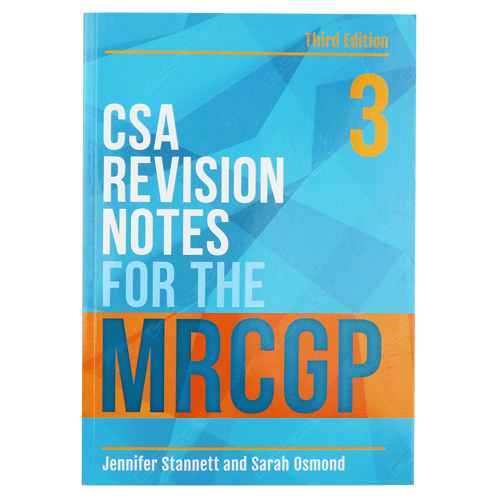 CSA Revision Notes For The MRCGP Third Edition