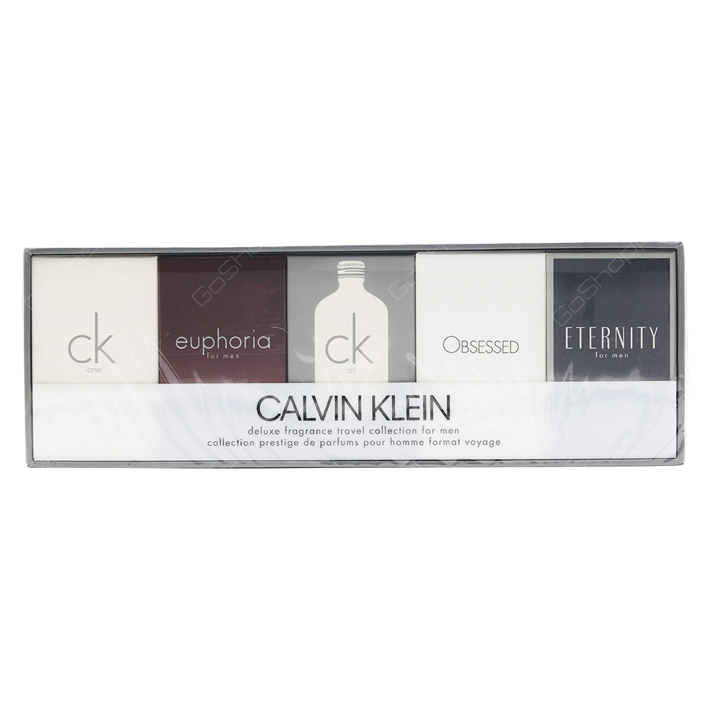Calvin Klien Mini Gift Set For Men 5pcs