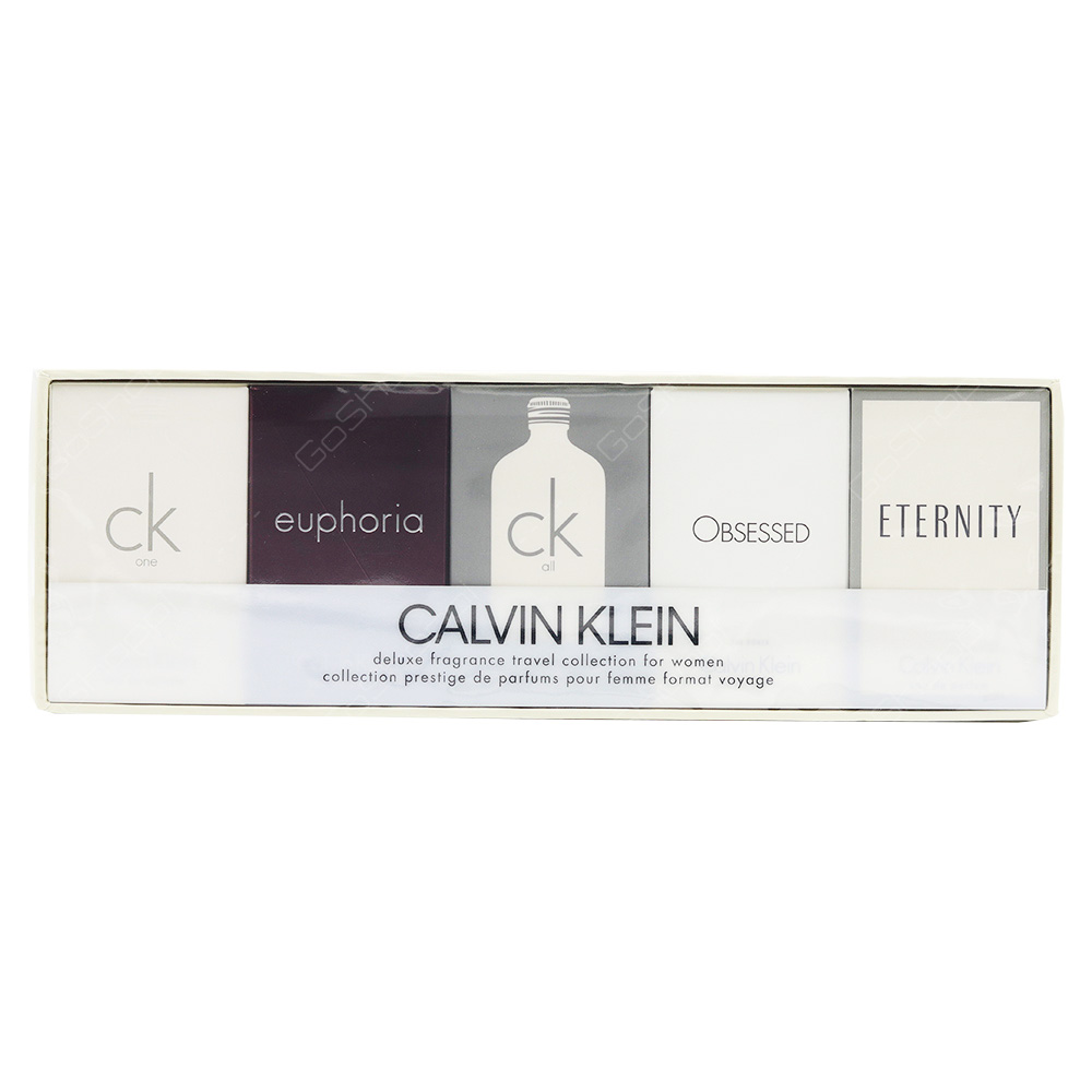 Calvin Klien Mini Gift Set For Women 5pcs