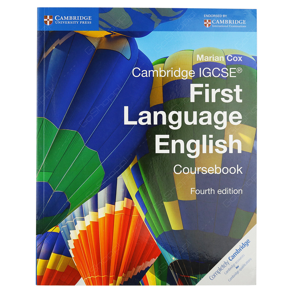 Cambridge IGCSE First Language English Coursebook 4th Edition