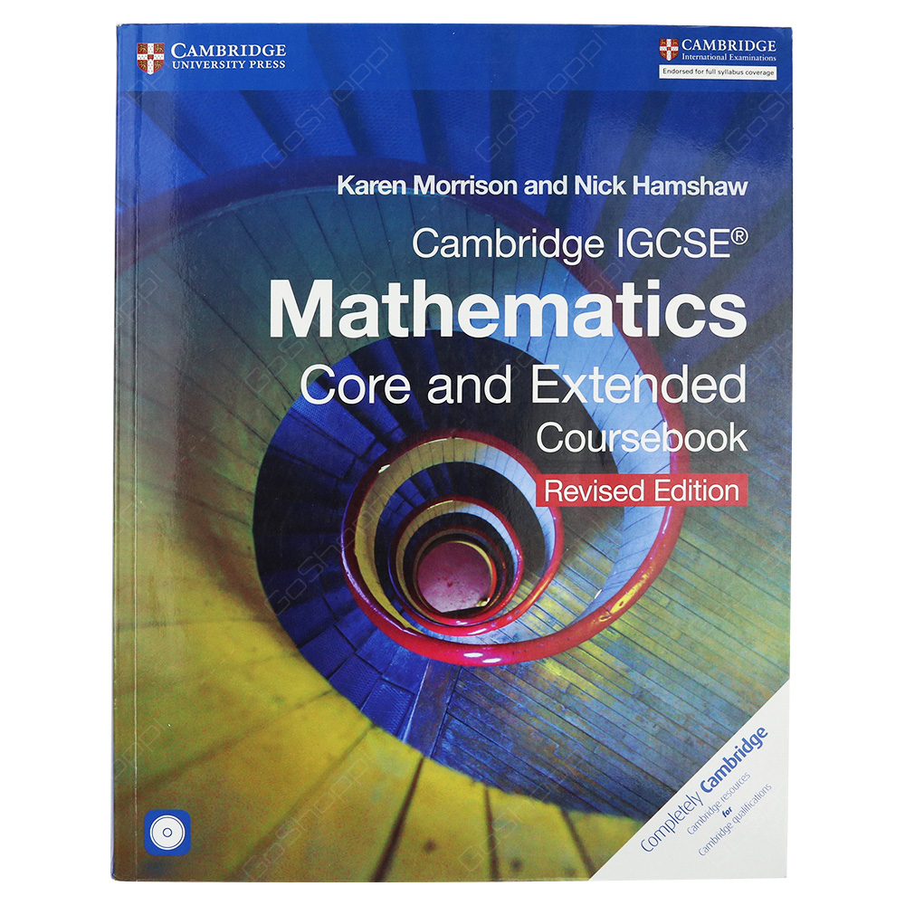 Cambridge IGCSE Mathematics Core And Extended Coursebook Revised Edition With CD
