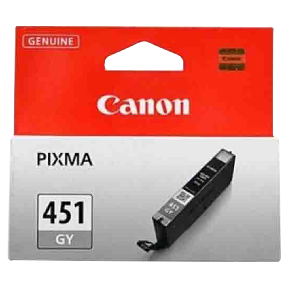 Canon CLI451Gy Ink Jet Cartridge - Grey