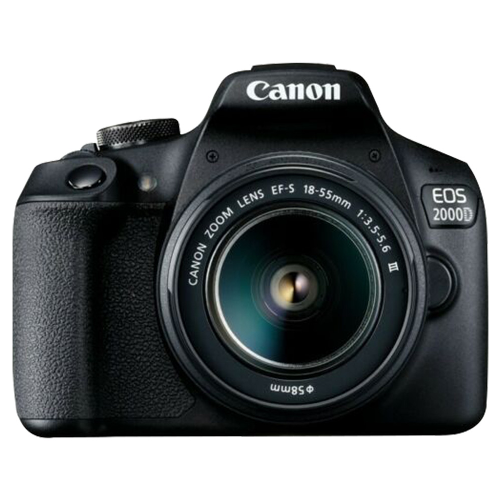 Canon EOS 2000D DSLR 18-55 IS II 24.1MP Camera Kit - EOS2000DC