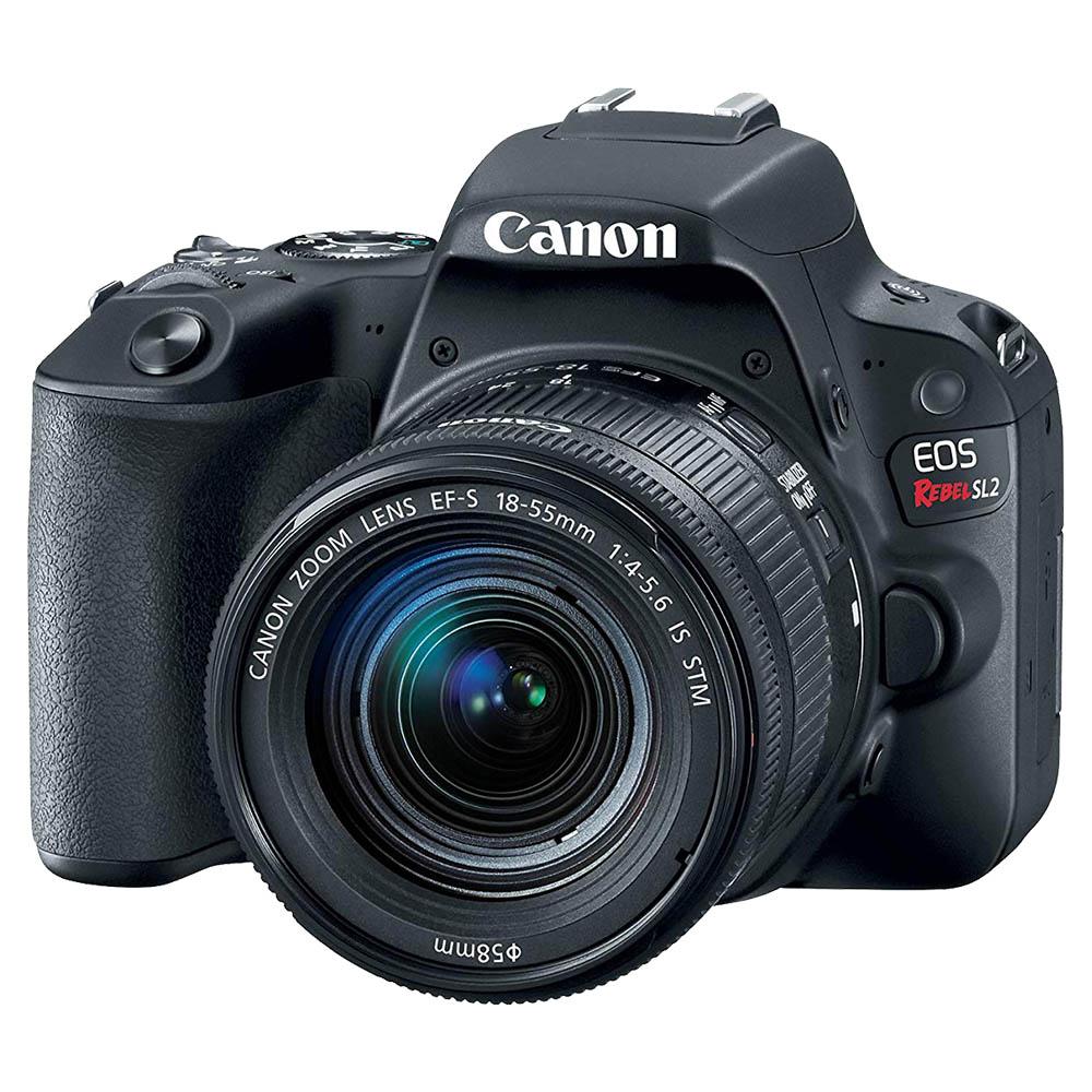 Canon EOS 77D DSLR Camera With EFS 18-55mm IS STM Lens - Black - EOS77DKIT