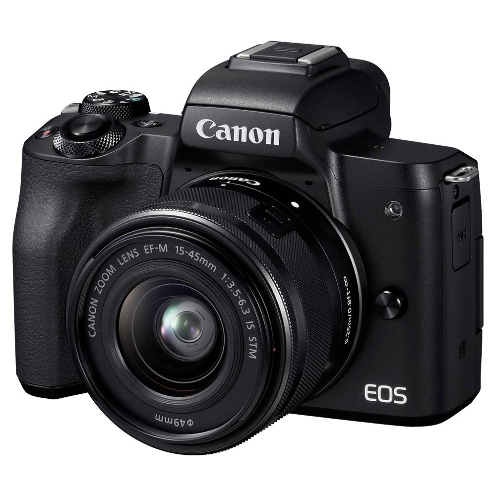 Canon EOSM50 Mirrorless Digital Camera With EF-M15-45mm Lens