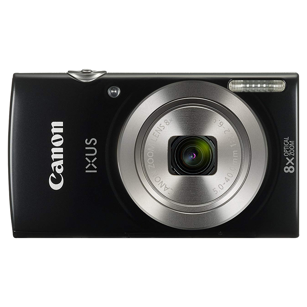Canon IXUS 185 20MP Point And Shoot Digital Camera - Black