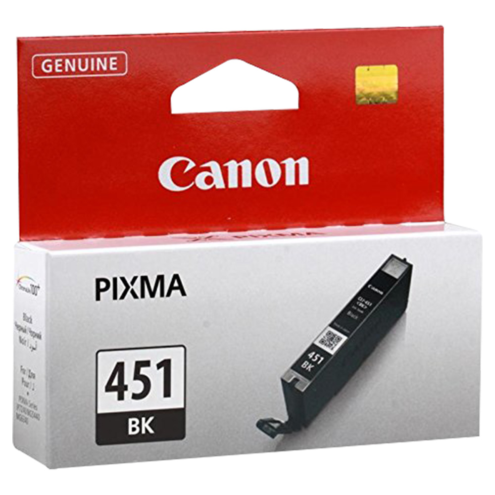 Canon Ink Cartridge - Black - CLI451BK
