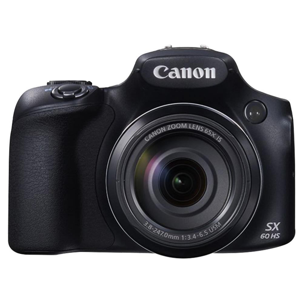 Canon Power Shot SX60 HS DSLR Camera - Black