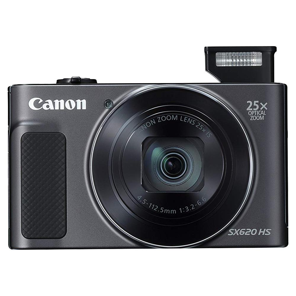 Canon Power Shot SX620HS 20.2MP Digital Camera - Black