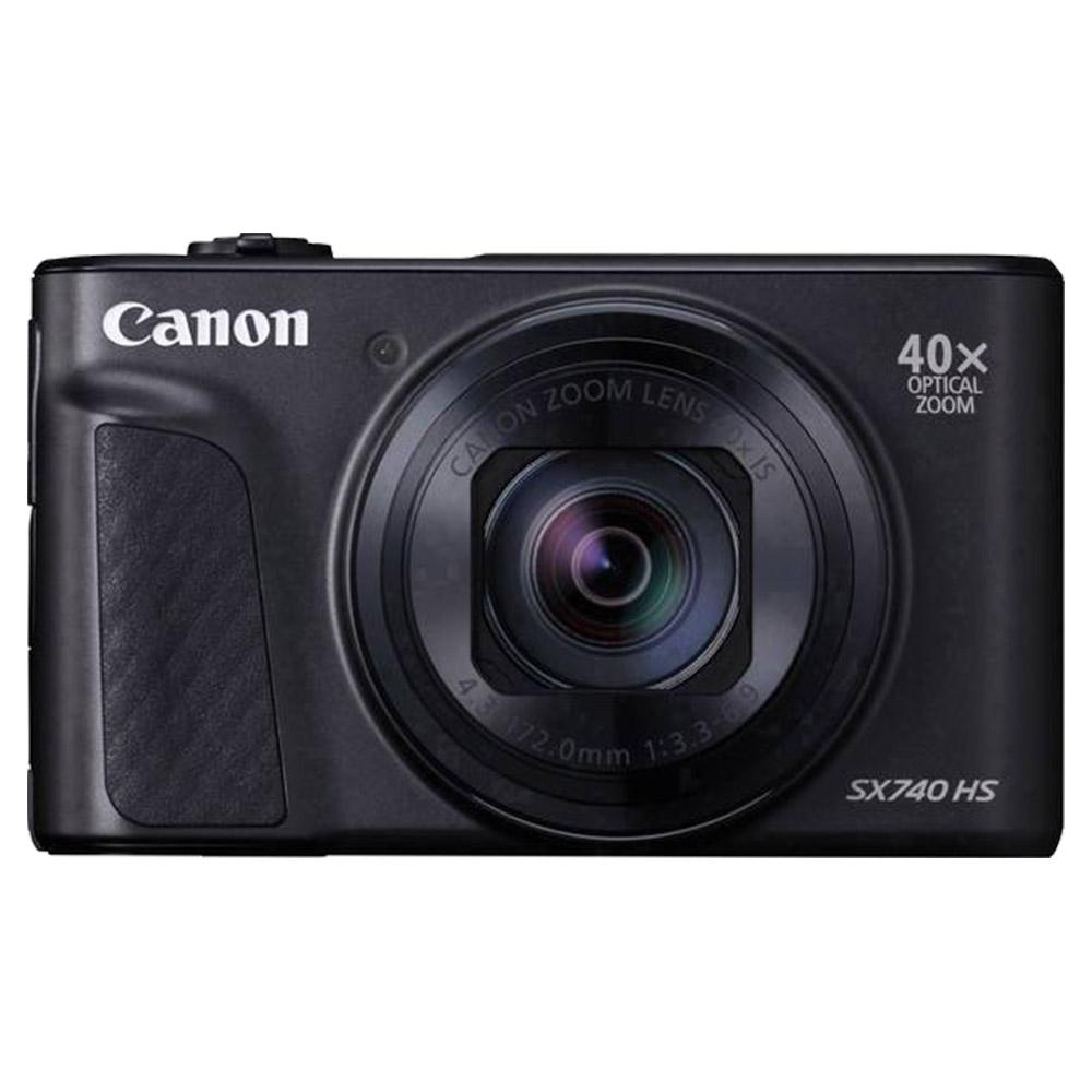 Canon Powershot SX740 HS 20.3 MP Optical Zoom Digital Camera - Black - PSSX740HSBK
