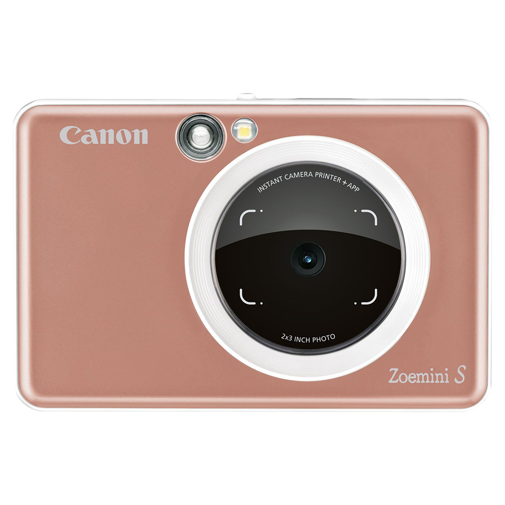 Canon Zoemini S Instant Camera 8MP - Rose Gold - ZOEMINIS-RGD