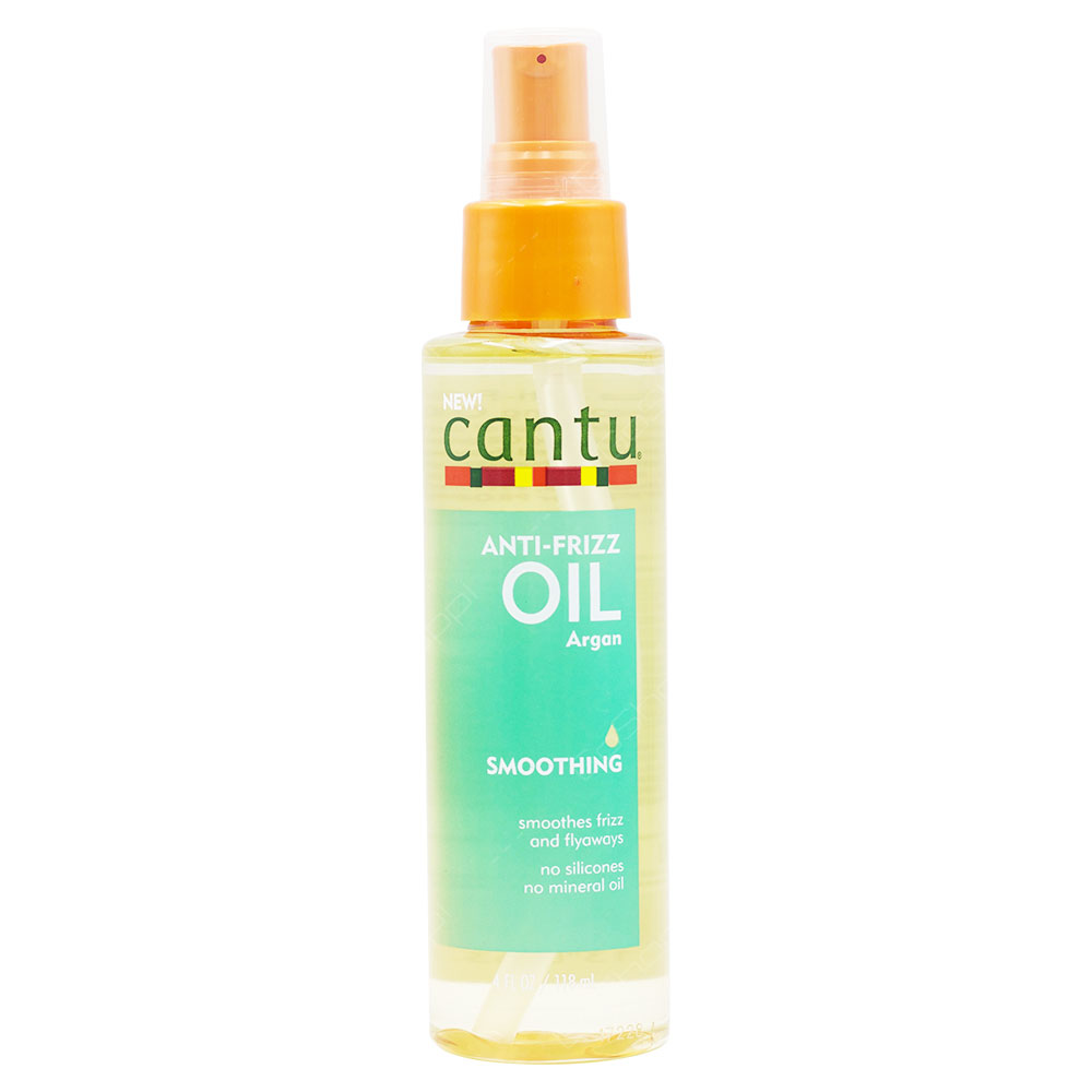 Cantu Anti-Frizz Argan Smoothing Oil 118ml