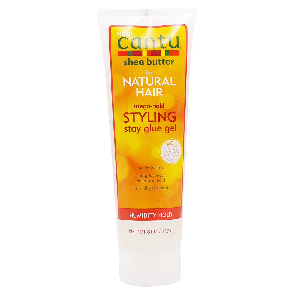 Cantu Shea Butter Natural Hair Styling Stay Glue Gel Humidity Hold 227g