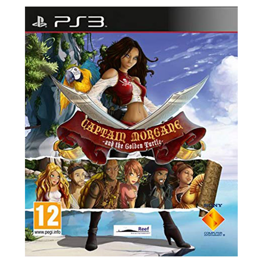 Captain Morgane And The Golden Turtle - Sony Playstation 3