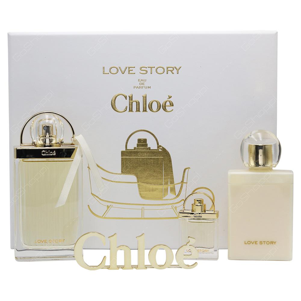 Chloe Love Story Gift Set For Women 3pcs Buy Online