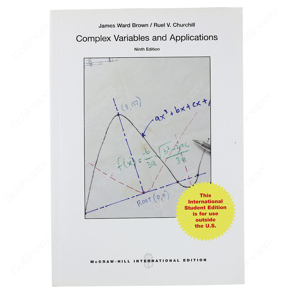 Complex Variables And Applications 9th Edition By James Ward Brown