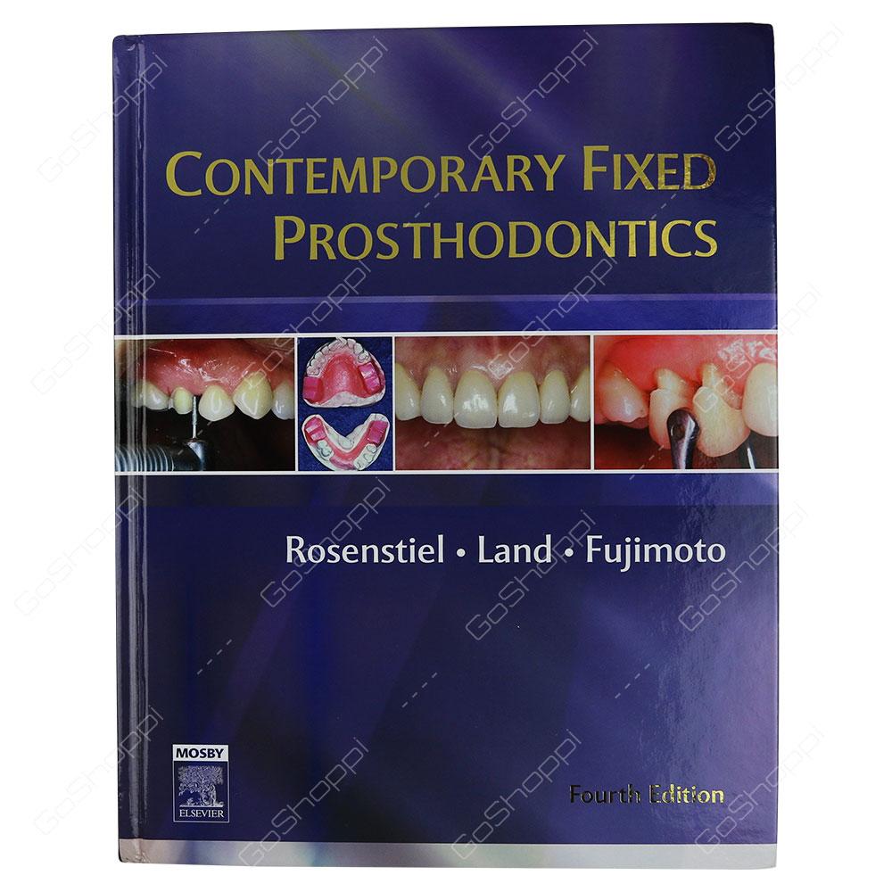 Contemporary Fixed Prosthodontics By Stephen F. Rosenstiel